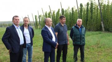 Сотрудники Министерства сельского хозяйства Чувашии ознакомились с хмелеводческой деятельностью в Цивильском районе